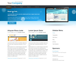 BlueLed Website Template