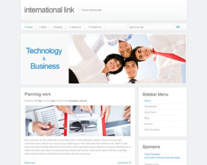 InternationalWay Website Template