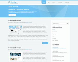 OptimizeWeb Website Template