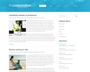 TheCorporation Website Template
