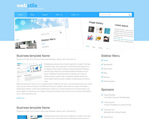 WebTile Website Template