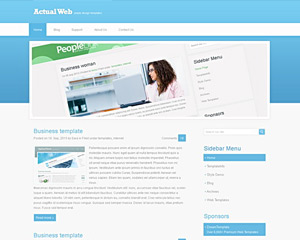 WebFlux Website Template
