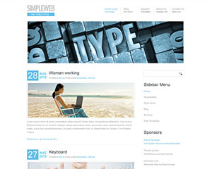 WhiteArctiq Website Template